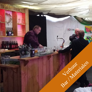 Bar unit voor catering